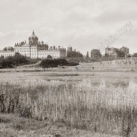 Castle Howard, with Lake in Foreground - HLS05752