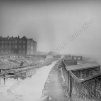 Rochdale Canal in 1950s before restoration. - JGC00118