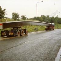 Bridge in Lay-by at Elland. 1988 - MOS00230