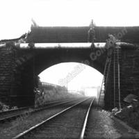 Heckmondwike Railway Bridge, 1936 - BRS00154