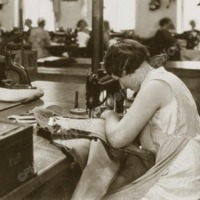 Seamstress at Work - WAO00273