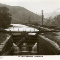 Rochdale Canal at Springside - HCC00962