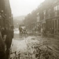 Market Street, Hebden Bridge flood - WAO00299