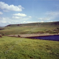 Boothwood Reservoir and Scammonden Bridge, June 1989 - RSC00242