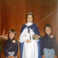 Cornholme Methodist Sunday School Queen, 1977 - MCR00148