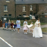 Cornholme Methodist Sunday School Queen, 1965 - MCR00146