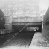Princess Street in Manchester. 1954 - JGC00110