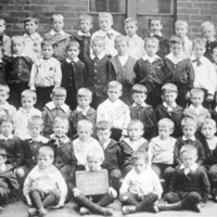 Roomfield School Infants group Todmorden - TAS001274
