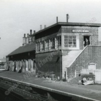 Greetland No. 2 Signal Box, Nr. Halifax. 29th October 1962. - NGH00114