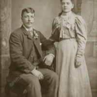 Olive Mitchell nee Dawson and a Cousin. - BBS00111