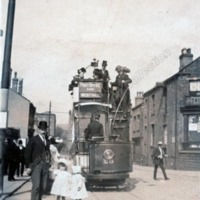 Tram no 30 at West Vale - DPC00599