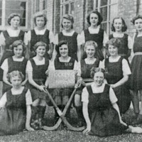 School Hockey Team - CLA00127