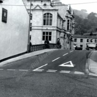 St George's Bridge and Hebden Bridge Town Hall - BIM00397