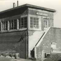 Greetland No. 2 Signal Box, Nr. Halifax, 29th October 1962. - NGH00106