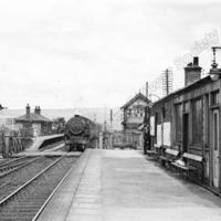 Smithy Bridge Station 1950. - LYR00297