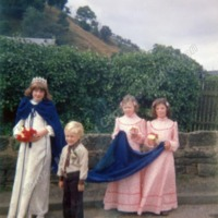 Cornholme Methodist Sunday School Queen, 1978 - MCR00145