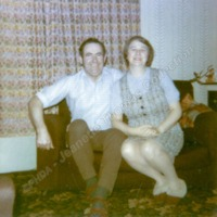 Eddy & Phyllis Haworth, 1973 - JET00272