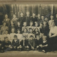 Class Photo of Pecket School - CVH00217