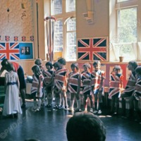 Coronation event Todmorden school - TAS001278