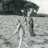Haymaking at Swan Bank, Cragg Vale July 1969 - CVH00201
