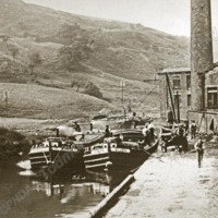 At Work on the Rochdale Canal - TAS00313