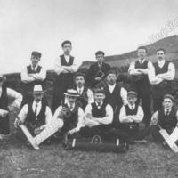 Unitarian Cricketers, c1912 - TOD00233