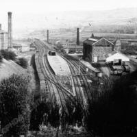 Elland Station during demolition. - LYR00304