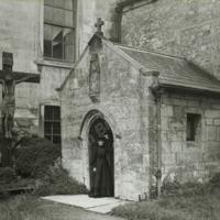 Hazlewood Castle , Porch to Chapel - HLS05895