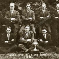 Oats Royd Tug of War Team, 1926 - HOL00163