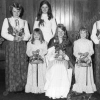 Cornholme Methodist Sunday School Queen, 1973 - MCR00142