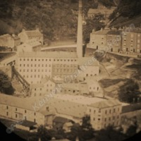 Mill and houses. - KEC00445