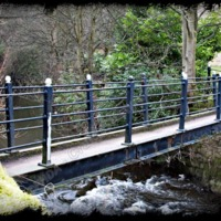Foot bridge - CSS00181