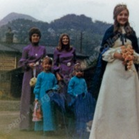 Cornholme Methodist Sunday School Queen, 1972 - MCR00154