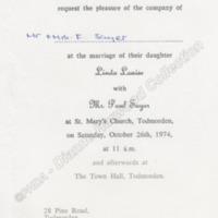 Wedding Invitation - DAH00202