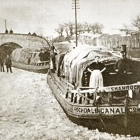 Barges on the Canal - TAS00320
